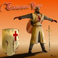 3d model templar knight