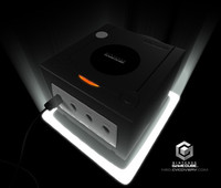 3d model of nintendo gamecube