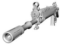 3d sg550 rifle model