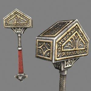 hammer realtime 3d model