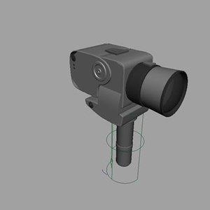 hasselblad camera 3d model
