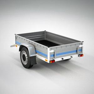 small trailer 3d model
