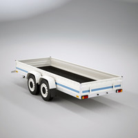 Small 4 wheel trailer