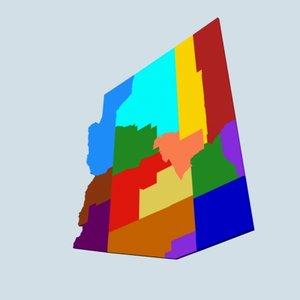 maya state counties