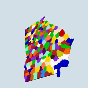 3d state counties