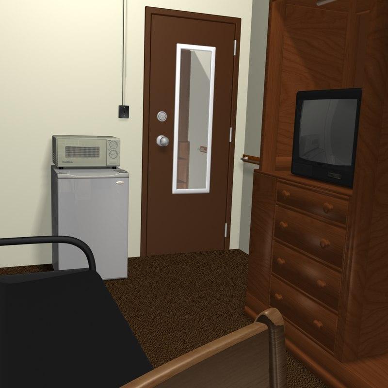 3dsmax dorm room