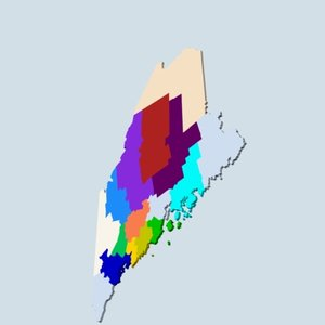 3dsmax state counties