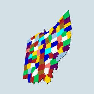 state counties 3d lwo