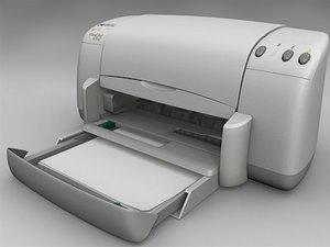 3d model hp printer
