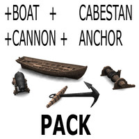 4 accessories for old ships