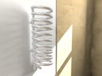 3d chrome radiator