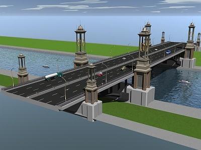 3ds max bridge heritage
