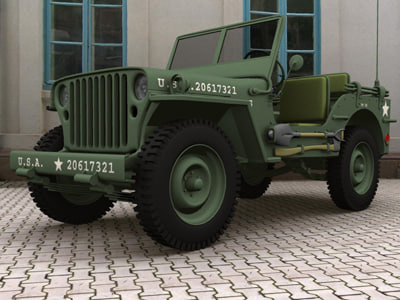 willys jeeps max