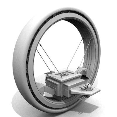 aureole vehicle 3d model