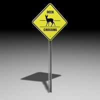 deer sign 3d 3ds