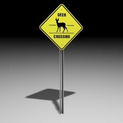 deer sign 3d 3ds