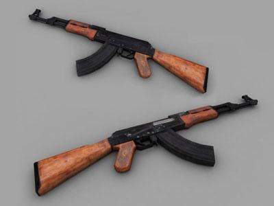 3d ak-47 ak 47