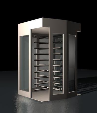free turnstile 3d model