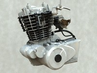 3d bike engine model