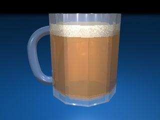 beer mug c4d