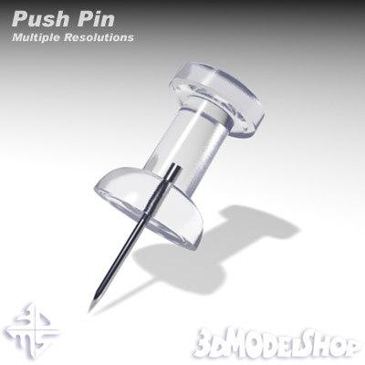 push pin 3ds