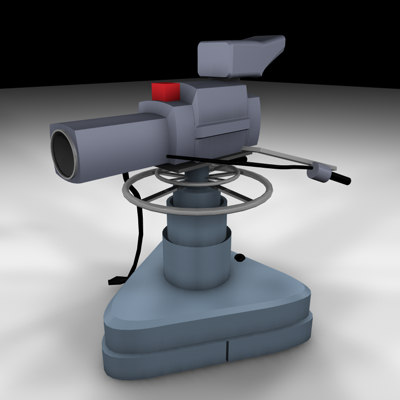 cinema4d television studio camera