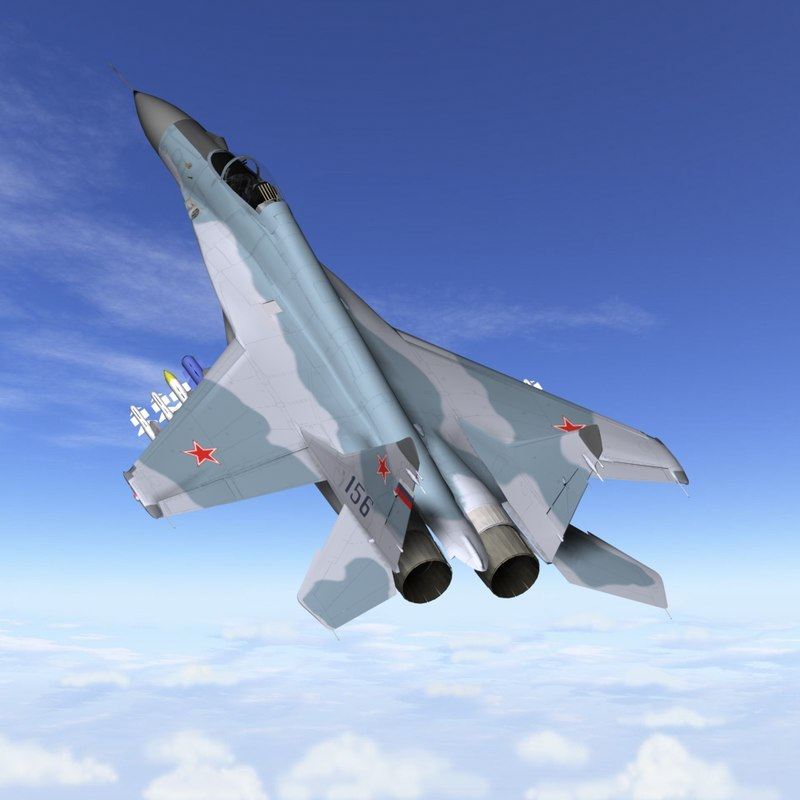 3d mig-29m fighter jet model