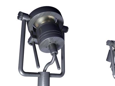 3d model ceilling lights spot