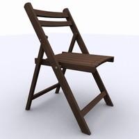 maya fold chair