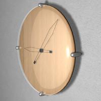 3d 3ds designer clock