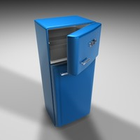 3ds max smeg fridge