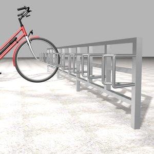 bicycle bar 3d max