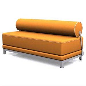sleep sofa 3d model