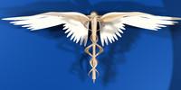 symbol medicine hermes 3d model