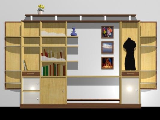3d showcase storage
