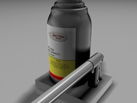 bottle jack max7 3d model