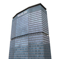 metlife building 3d max