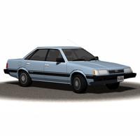 Sedan 1990s (Textured)