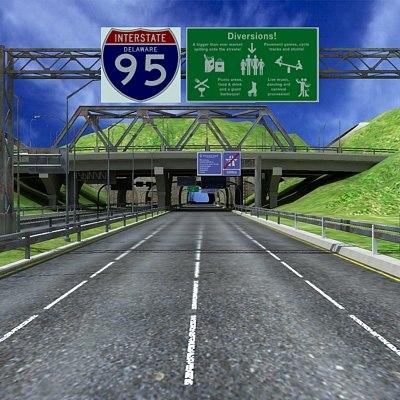 3ds max motorway builder
