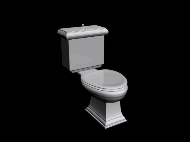 camode toilet 3d model