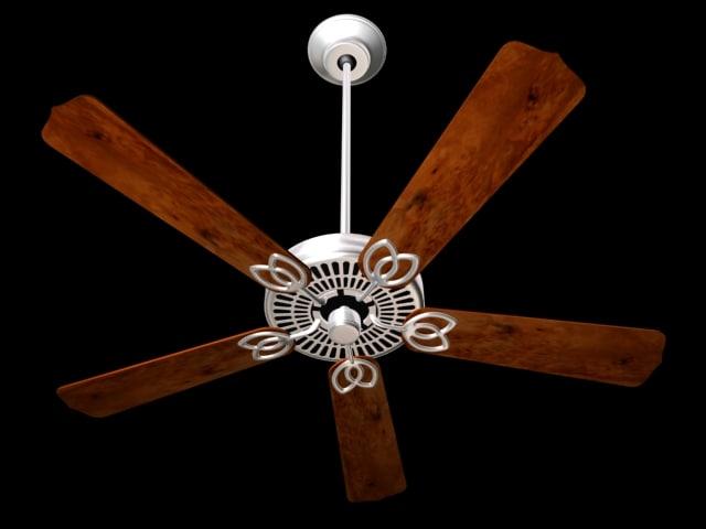 blade ceiling fan 3d 3ds