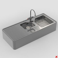 Sink kitchen001.ZIP