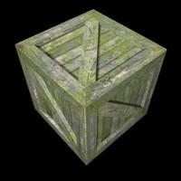 Wood Crate K021