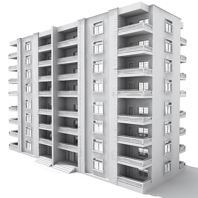 3d 3ds building residential