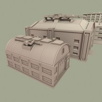 3d warehouse buildings model