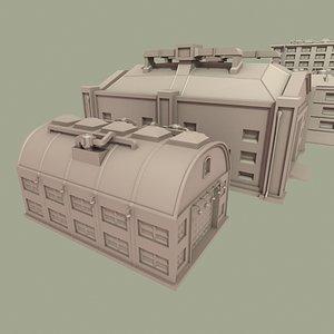 3d warehouse buildings model