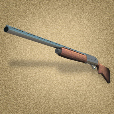 3d lwo benelli shotgun