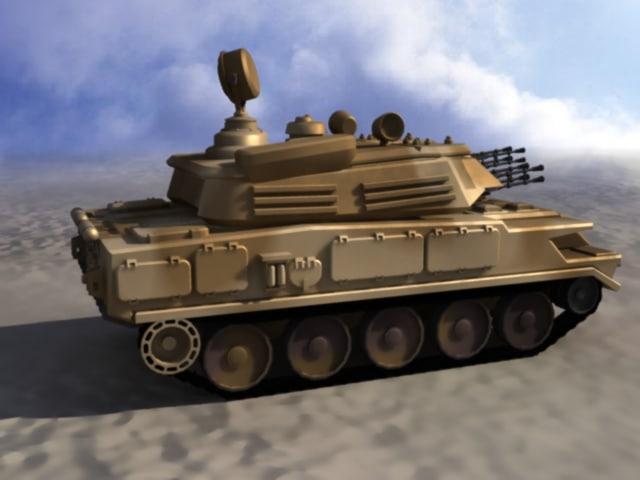 3d zsu-23-4 russian