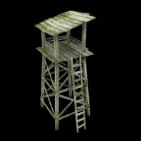 3d guard tower el
