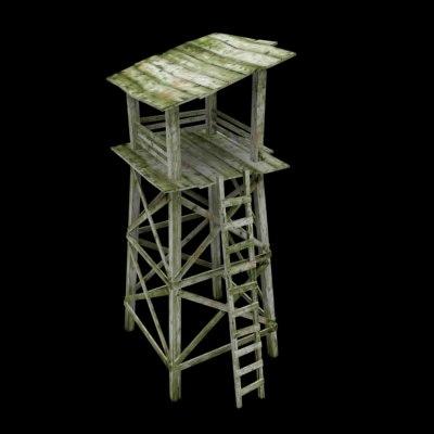 3d guard tower el